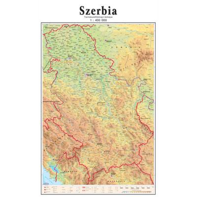 Skolska Fizicko Geografska Zidna Karta