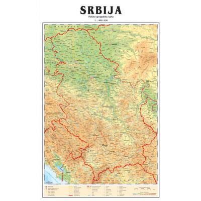 karta srbije cena Karta Srbije   Mapa Srbije karta srbije cena