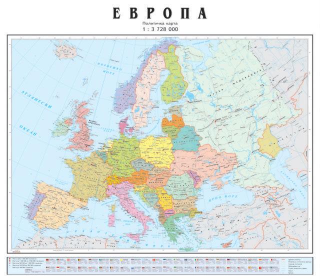 Skolska Politicka Zidna Karta