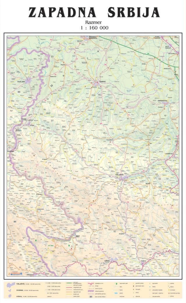 Tematska Zidna Karta